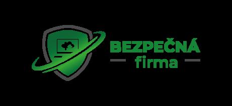 Logo projektu Bezpečná firma - koncept IT ochrany firem