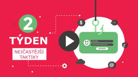 Obsah online kurzu chraňte se před hackery, 2. týden