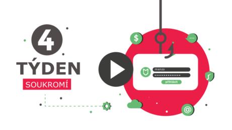 Obsah online kurzu chraňte se před hackery, 4. týden
